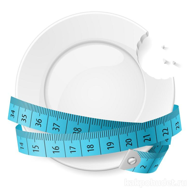 контроль размера порции