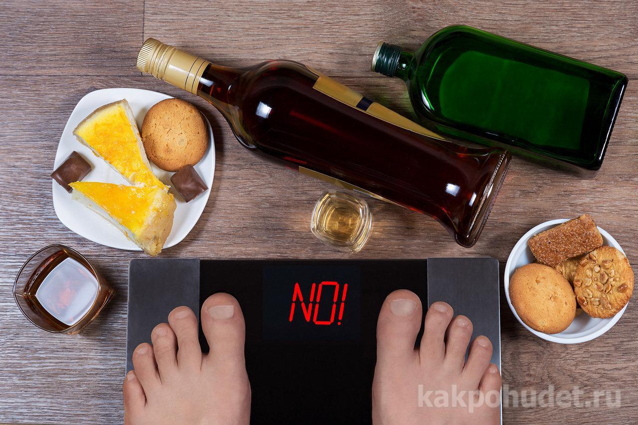 Причины похудения от алкоголя
