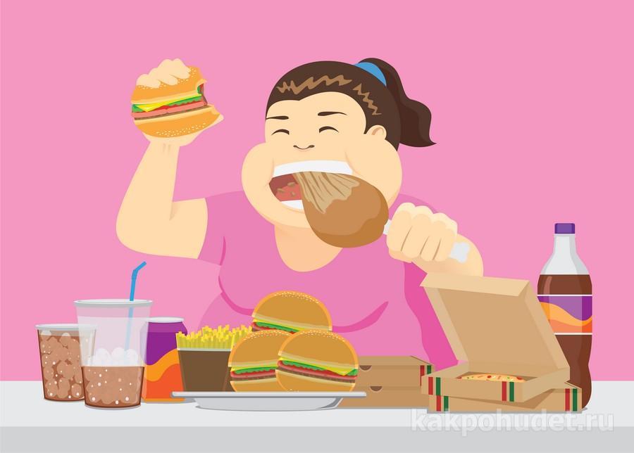 ешьте медленнее