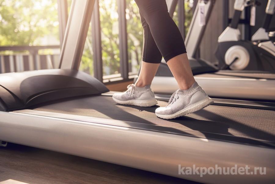 спортзал для похудения