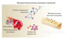 Биологически значимые элементы