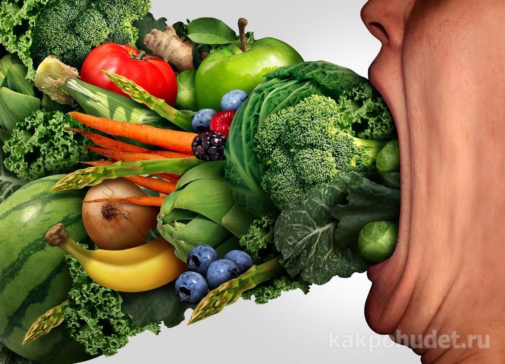 настоящее здоровое питание