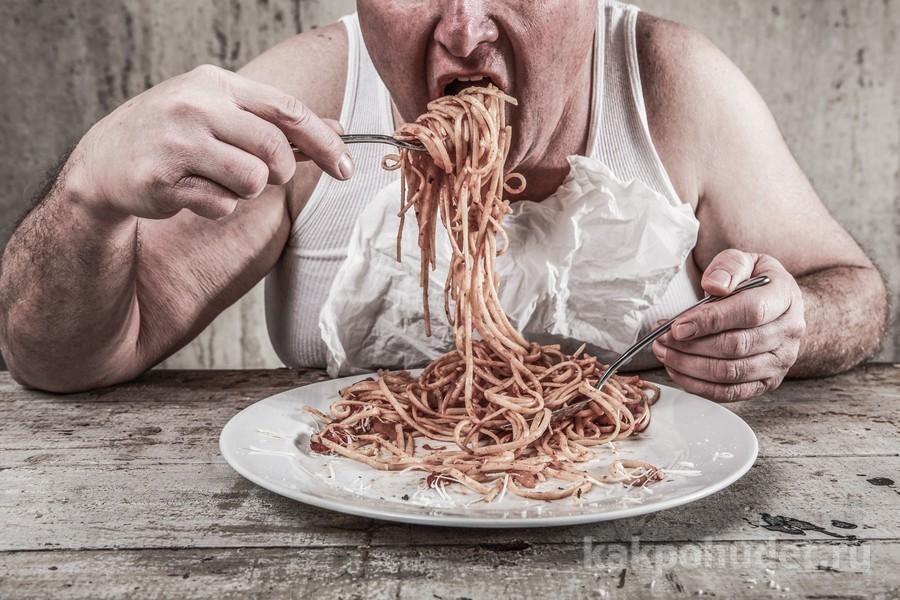 переедание и стресс