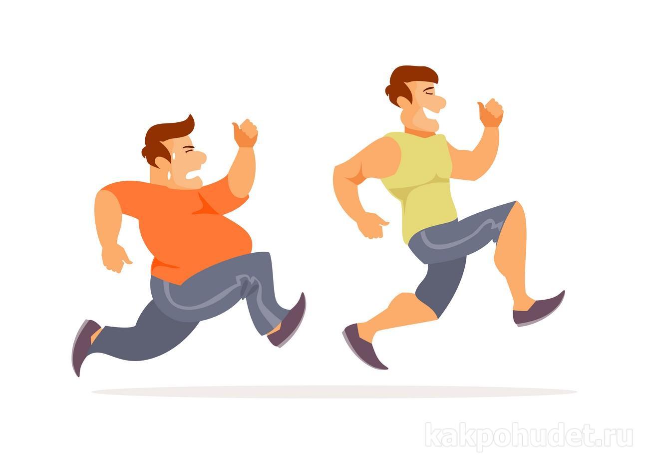 физические упражнения и ожирение