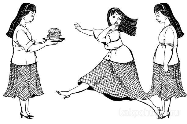 переедание что делать