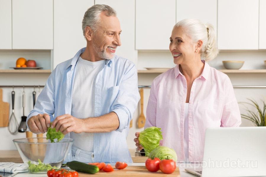 Принципы питания для пожилых
