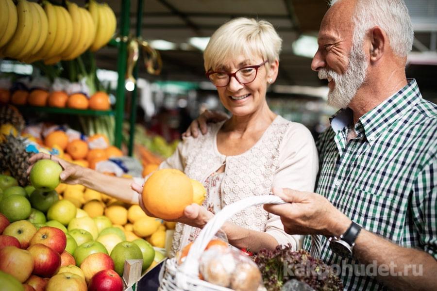 Принципы питания для пожилых людей