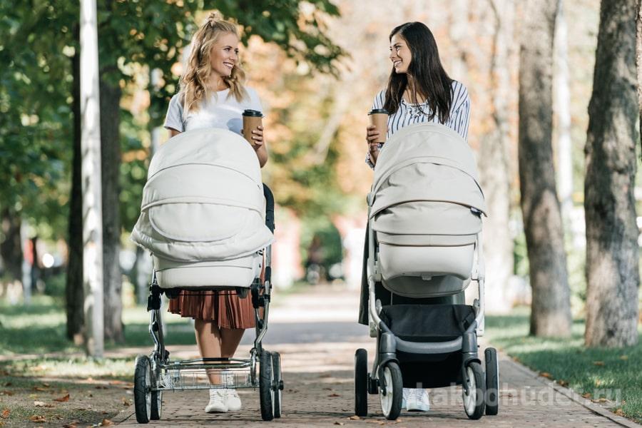Похудение при ходьбе с коляской