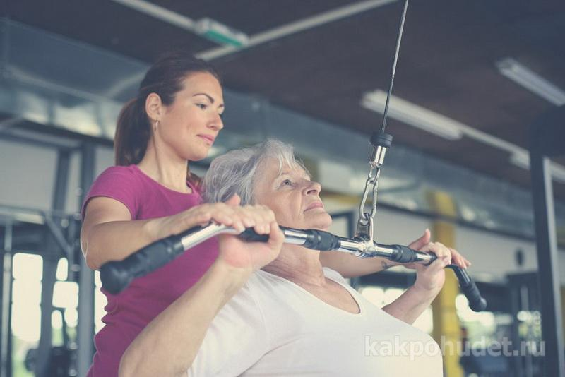 Делайте силовые упражнения