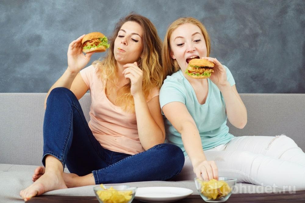 избавиться от компульсивного переедания