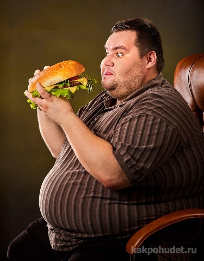 зависимость переедания