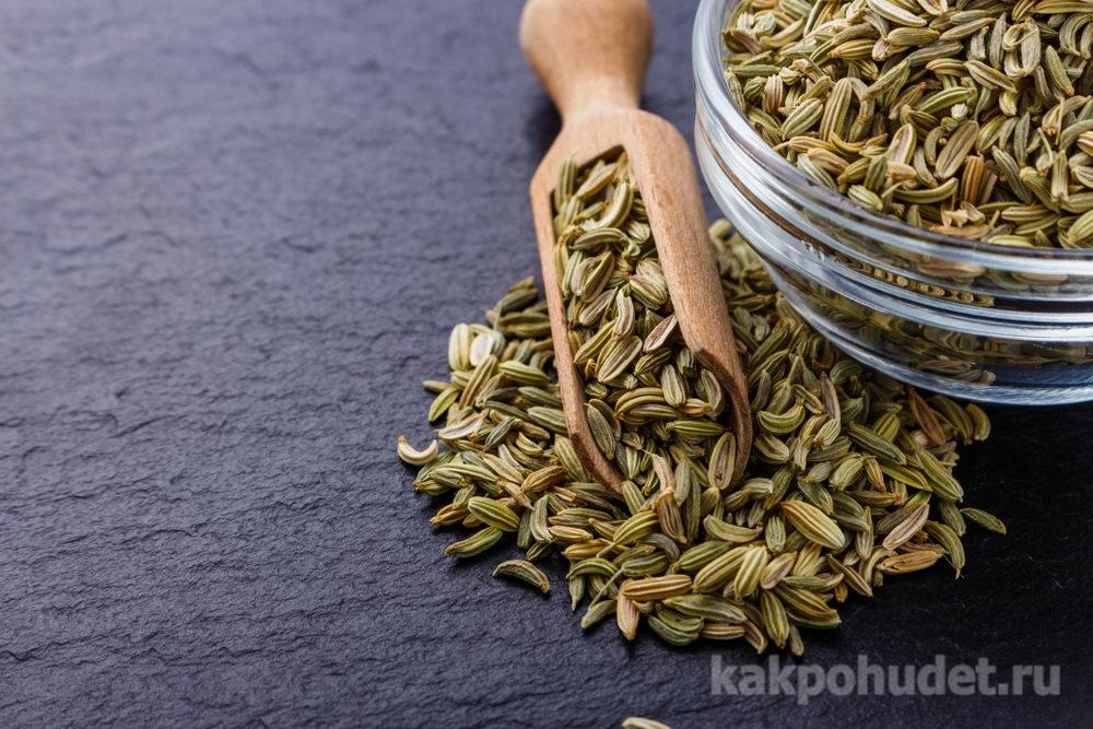 Жуйте семена фенхеля