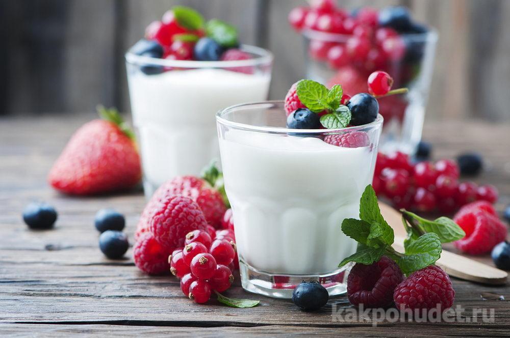 Покупайте йогурты без наполнителей