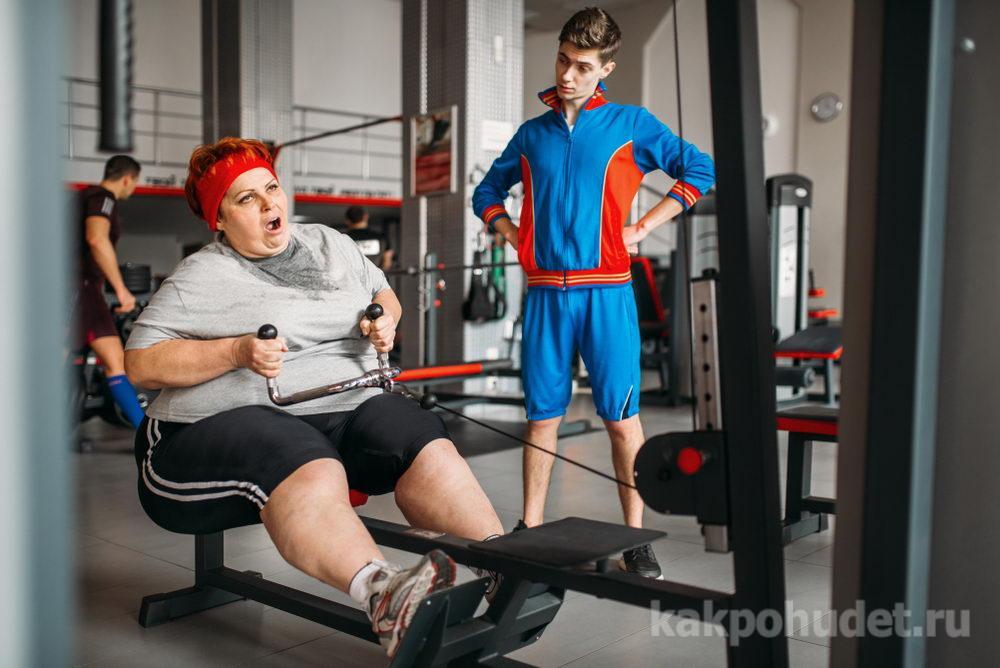 Физические упражнения и занятия на тренажерах