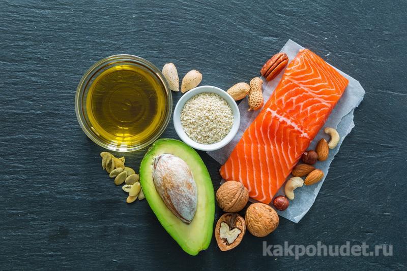 Больше жиров и протеинов