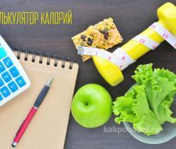Калькулятор калорий. Семь популярных счетчиков