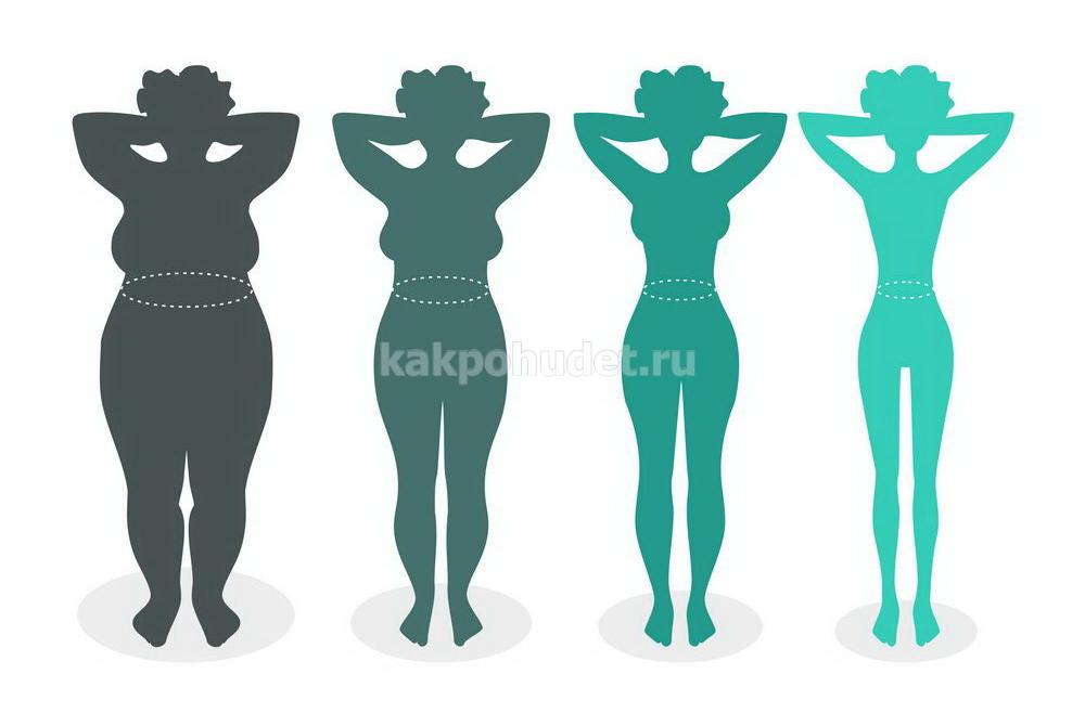 как сохранить результат похудения - обзор стратегий