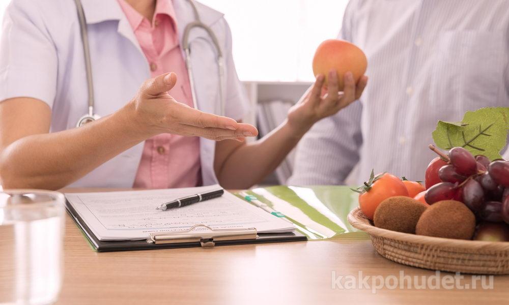 похудение с диетологом специалистом