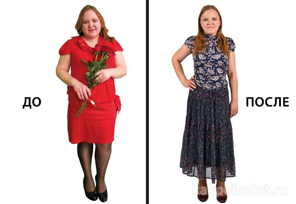 похудеть с диетологом фото до и после