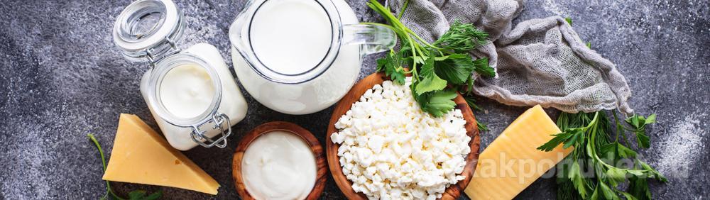 Белки в молочных продуктах
