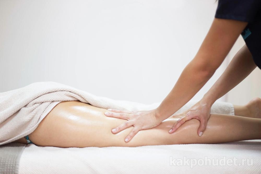 принцип действия Антицеллюлитный массаж