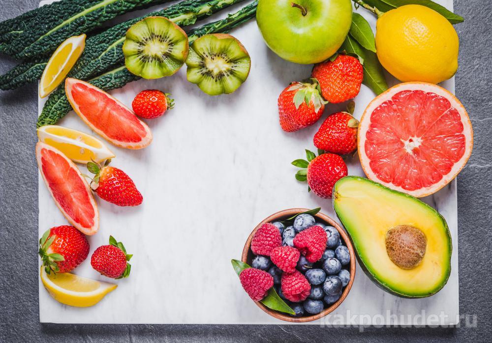 Увеличить в рационе овощи и фрукты