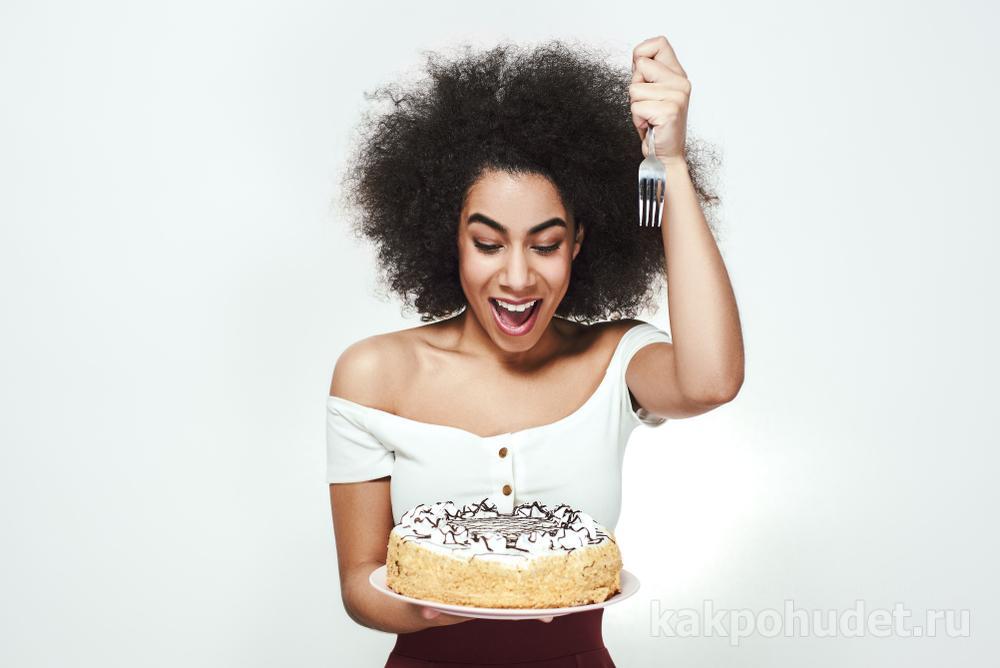 Ладно, нужно съесть этот тортик сейчас, чтобы завтра, когда я сяду на диету, он меня не искушал