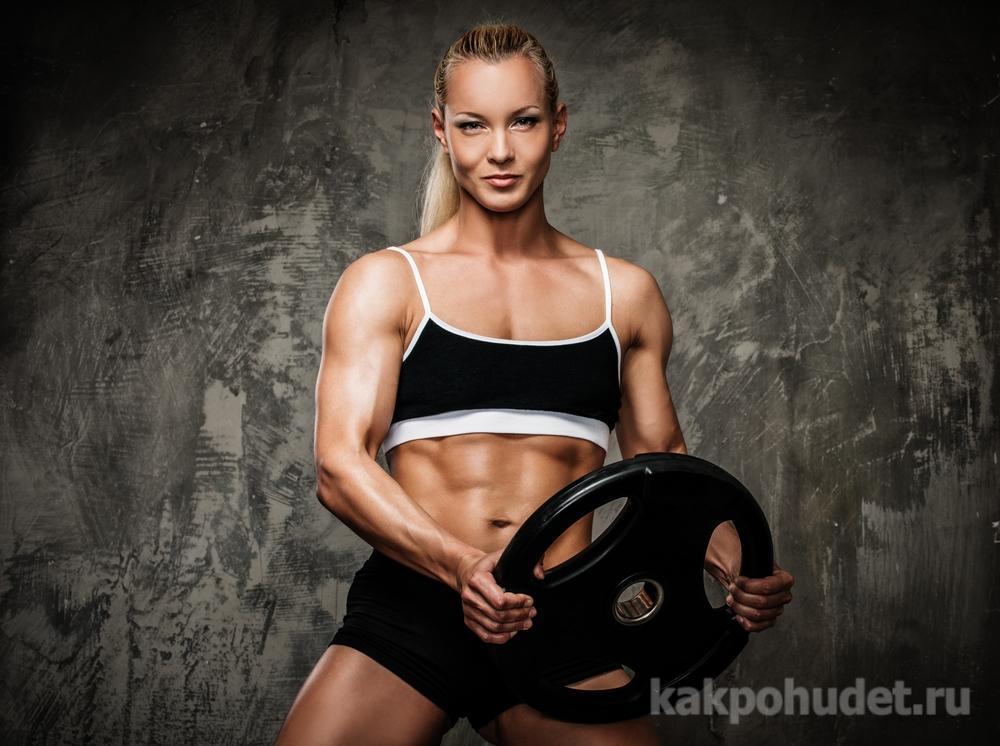 Силовые тренировки не превращают женщину в Шварцнеггера