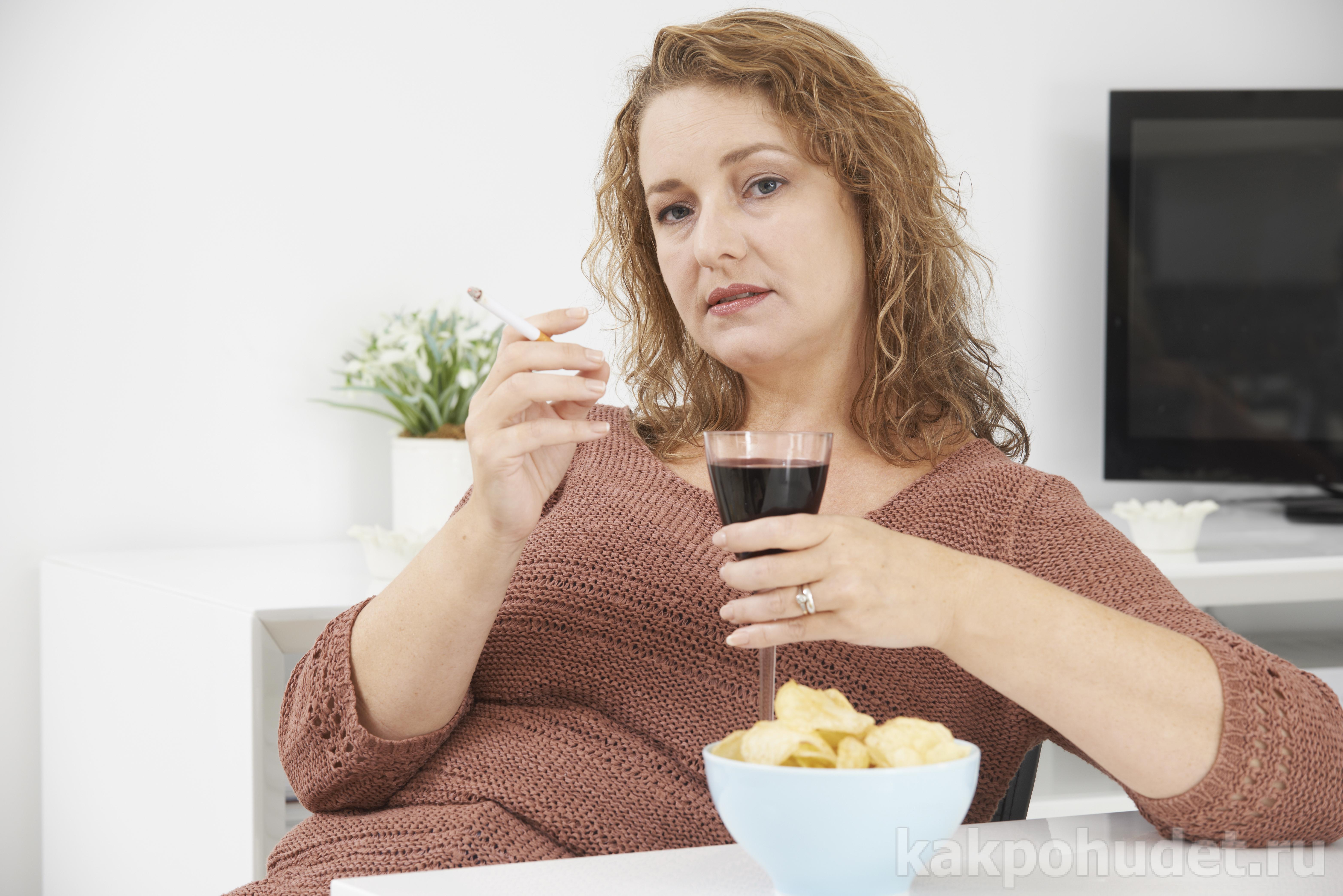 Наркомания, курение и лишний вес вредны для здоровья