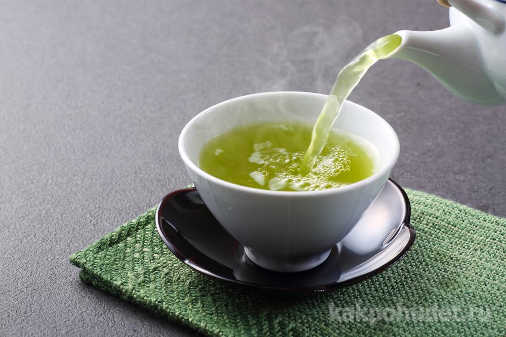 Для достижения и поддержания результата – пейте зеленый чай