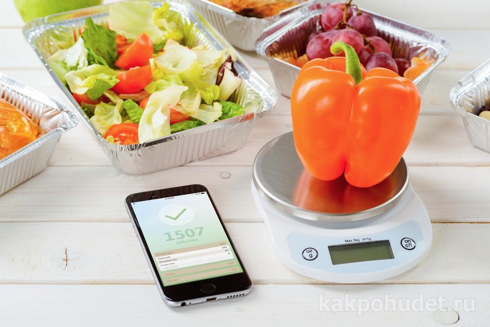 Современный подсчет калорий не требует много времени