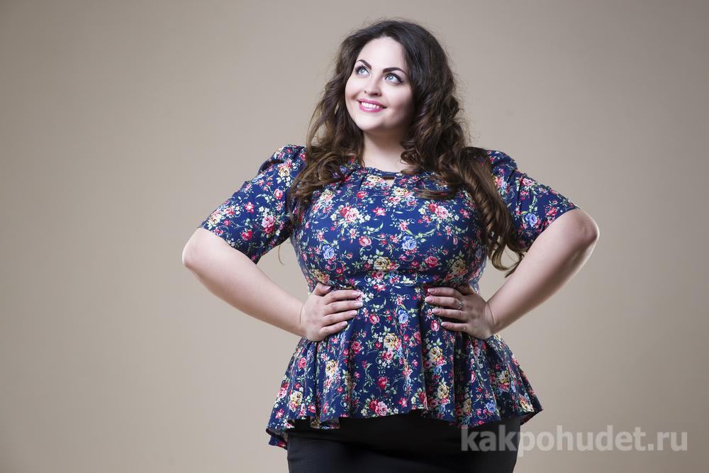 40% женщин с ожирением не видят у себя лишнего веса