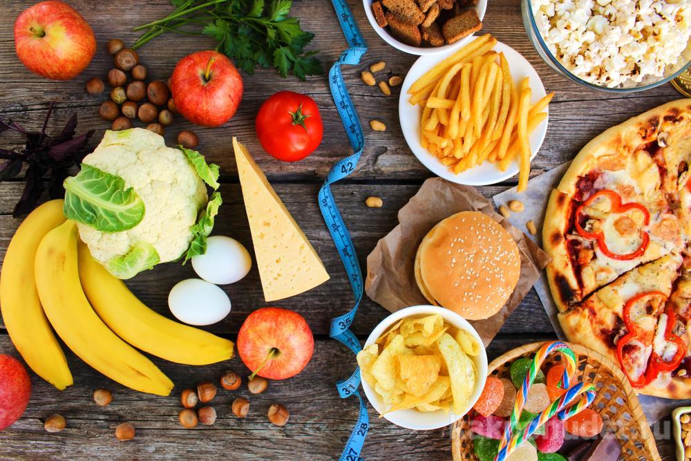 Какие продукты вредные, а какие полезные?