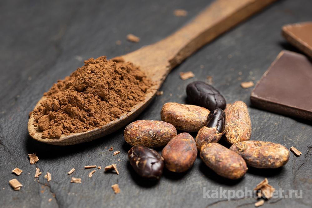 шоколад помогает сжигать жир