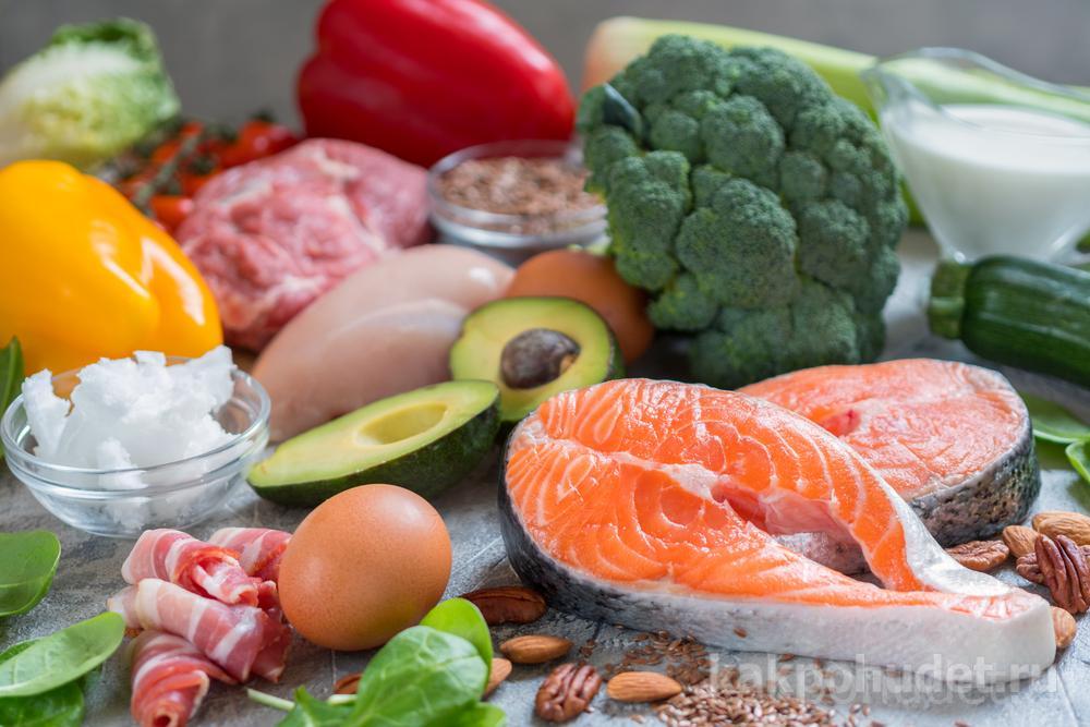 Что можно есть при кетогенной диете?