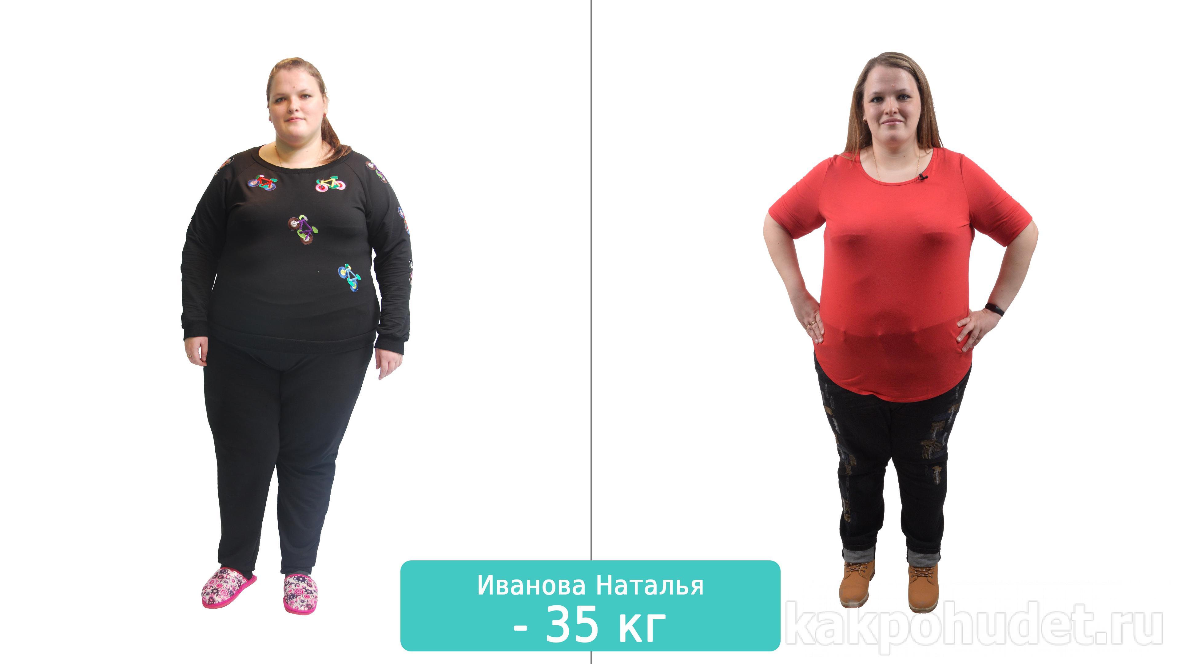 5 месяцев трансформации — и минус 36,6 кг!