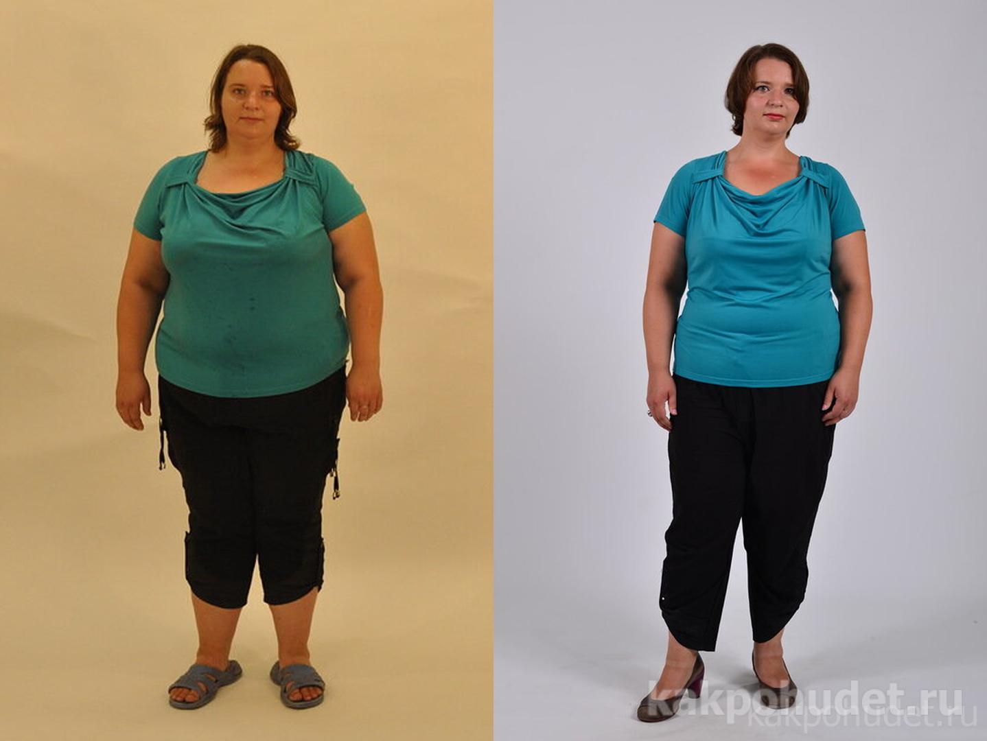 Она сбросила четверть своего веса быстрее, чем за год