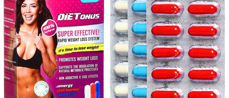 Капсулы DieTonus - для похудения и активации жизненных сил