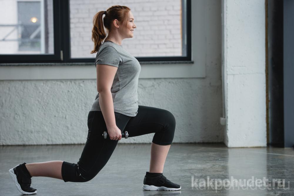 Без физических упражнений жир возвращается обратно стремительными темпами