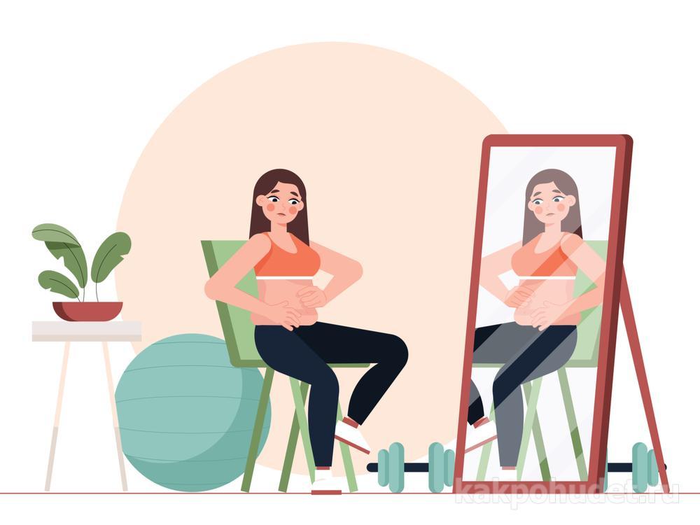 недовольство своим весом